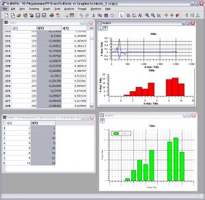 Две программы для рисования графиков scidavis common 300x292