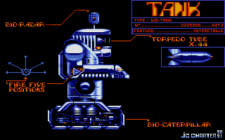 Внешний вид танка.