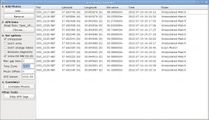 Окно программы после завершения обработки