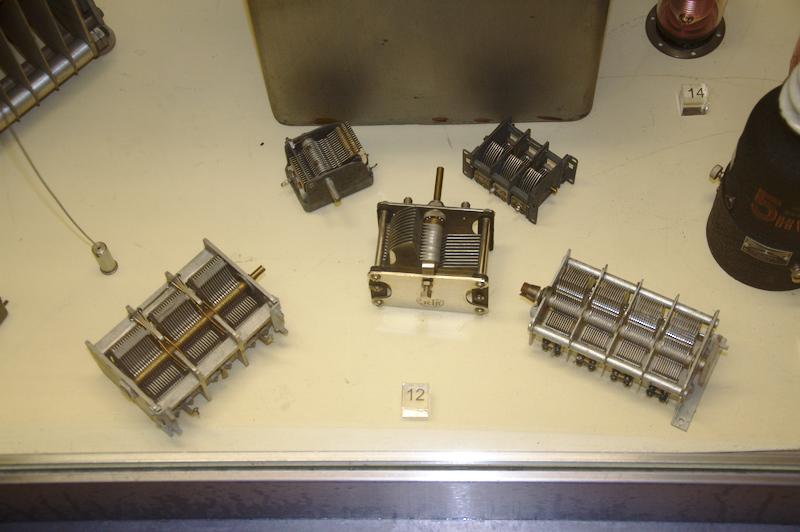 Переменные конденсаторы