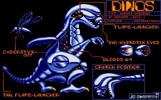 Внешний вид динозавра.