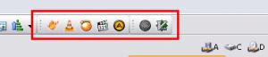 Пользовательские панели инструментов