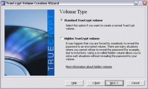 Truecrypt. Создание зашифрованного файла-образа
