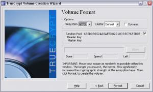 Truecrypt. Создание зашифрованного файла-образа. Выбор файловой системы