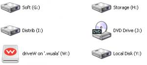 Виртуальный диск Wuala