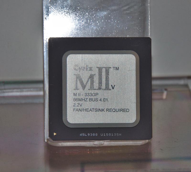 Процессор Cyrix M II