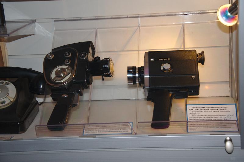 Старые кинокамеры